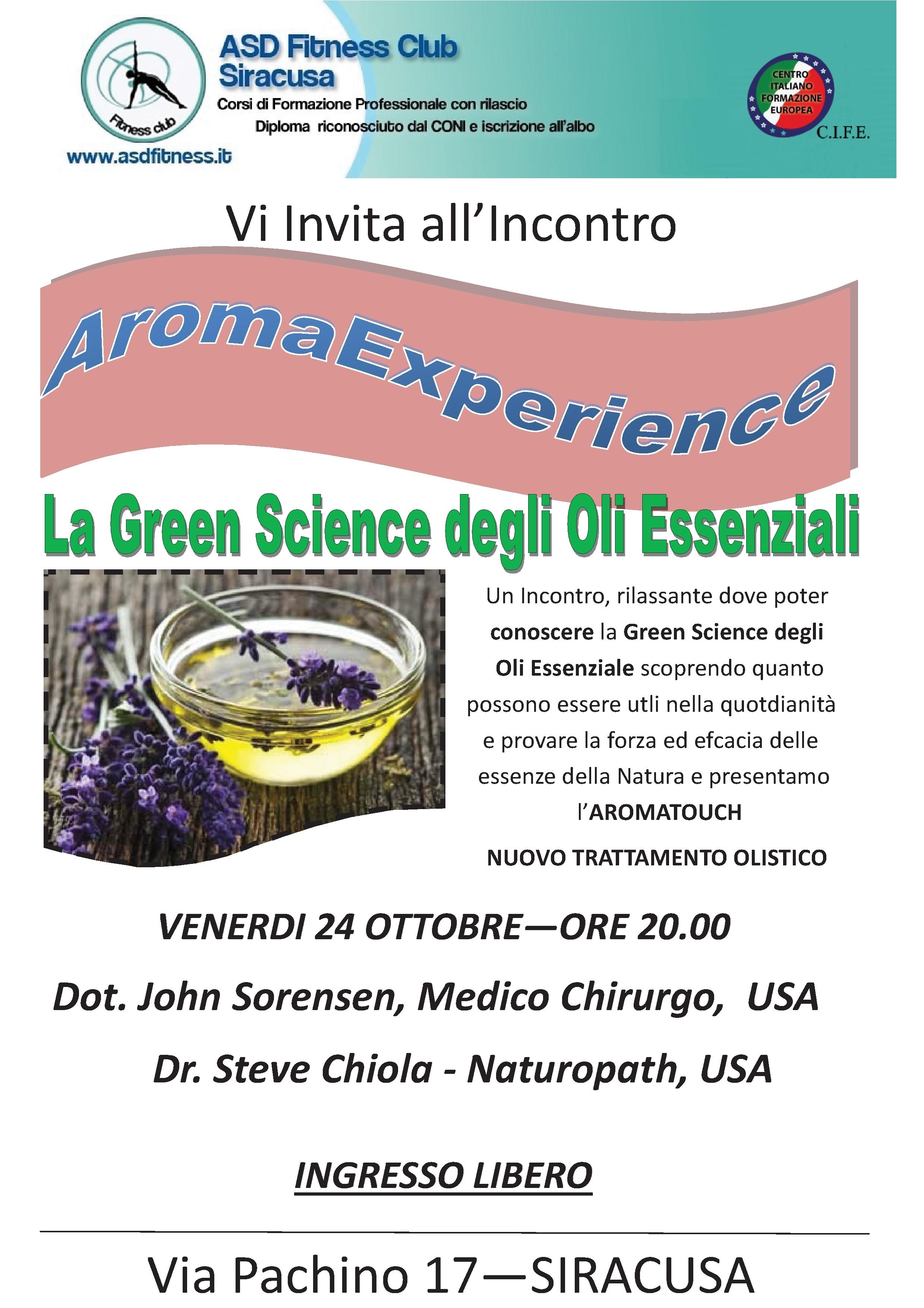 Aromaexperience SIRACUSA
