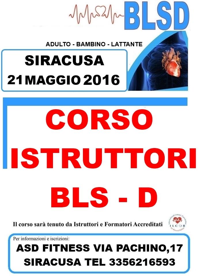 cife  blsd CORSO ISTRUTTORI 21 MAGGIO 2016